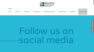 Access Physical Therapy & Wellness
